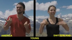 American Sign Language (ASL) V.S. Swiss-German Sign Language (Switzerland)