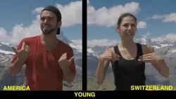 American Sign Language (ASL) V.S. Swiss-German Sign Language (Switzerland)