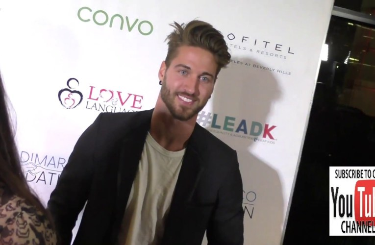 Travis Deslaurier at the Nyle DiMarco Foundation Kicks Off Love And Language Campaign at the Sofitel