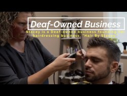 "Deaf-Owned Business - ""Hair By Stacey"""