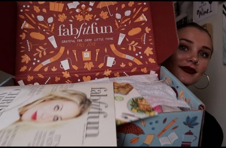 UNBOXING FABFITFUN FALL 2018/DISCOUNTS