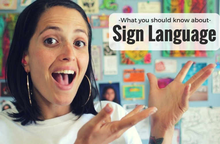 Dear hearing people: What you should know about sign language ❤ Jessica Marie Flores ❤