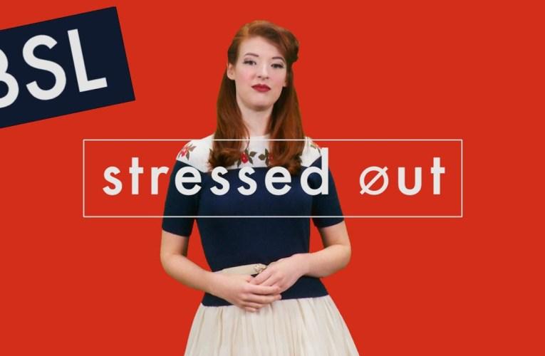 Stressed Out by Twenty One Pilots (BSL & Lyrics)