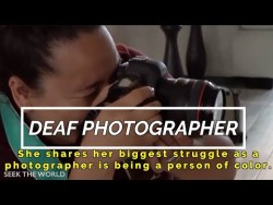 Deaf Photographer: Cilla Photography