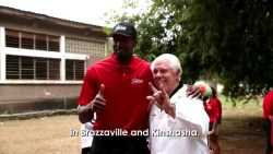 Serge Ibaka in the Congo