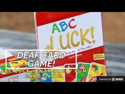 "A Deaf Card Game - ""ABC LUCK"" By ASLcart"