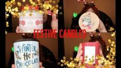 Christmas candle haul