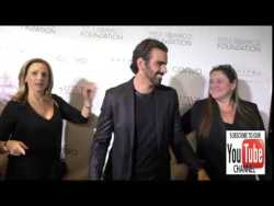 Marlee Matlin and Nyle DiMarco at the Nyle DiMarco Foundation Kicks Off Love And Language Campaign a