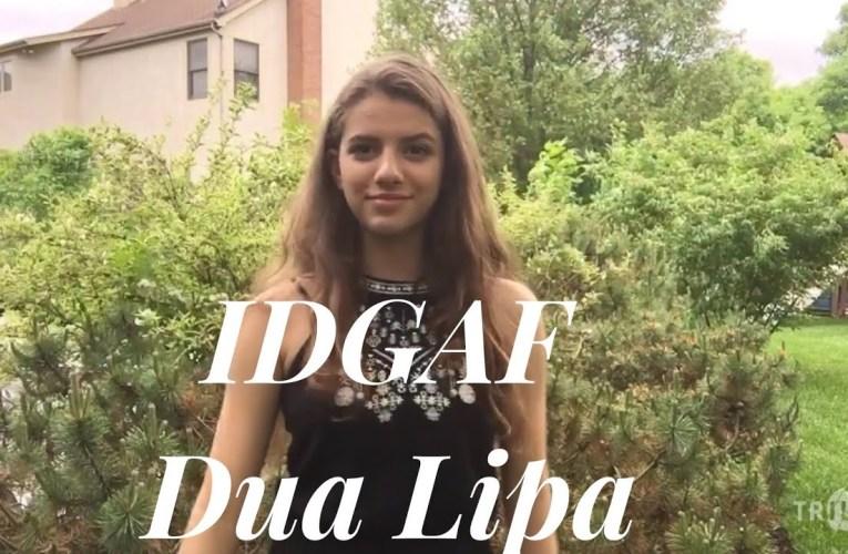 IDGAF- Dua Lipa (ASL COVER)