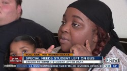 Deaf girl forgotten on bus after driver mishap