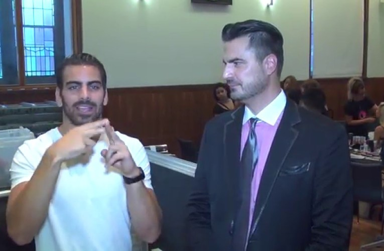 Nyle DiMarco ANTM | New York Fashion Week | Exclusive