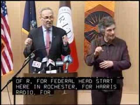 U.S. Senator Charles Schumer Visits RIT/NTID