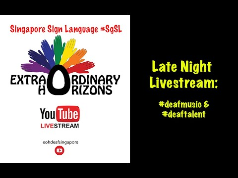 Live Stream #7: #deafmusic & #deaftalent
