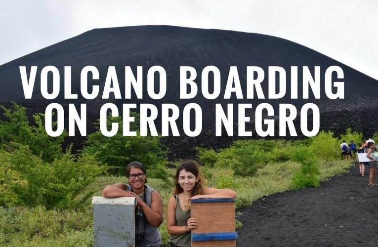 Volcano Boarding on Cerro Negro