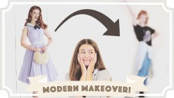 Vintage Girl Gets a Modern Makeover [CC]