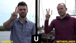 The Alphabets of Dutch Sign Language - (Nederlandse Gebarentaal or NGT)