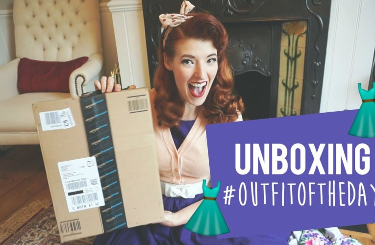 UNBOXING – #OutfitOfTheDay
