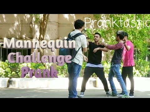 Mannequin(Statue) Challenge Prank in India at SRM University-Prank by Pranktastic Ft JasbStep