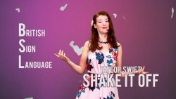 Shake It Off by Taylor Swift - Learn How To Sign (BSL) (Subtitles)