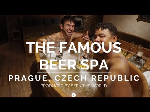 Czech Republic: Bathing Yourself in the Beer Spa With Unlimited Beer Drink in Prague!