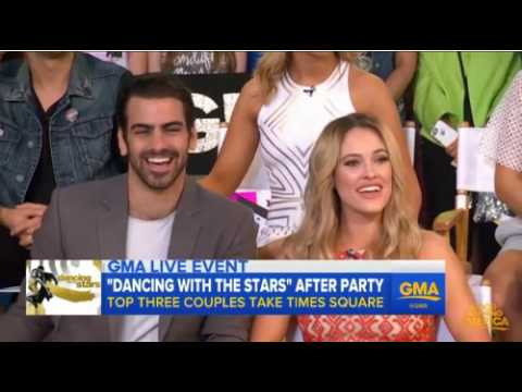 Nyle DiMarco Was Touched Carrie Ann Inaba Learned Sign Language  Watch Now!