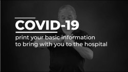 COVID-19 Healthcare Guide: print your basic information