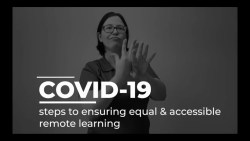 COVID-19 K-12 Remote Education: steps to ensuring equal & accessible remote learning