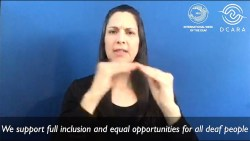 International Week of the Deaf | September 25, 2020