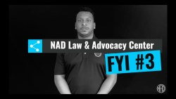 #AboutTheNAD: Law and Advocacy Center Tip #3