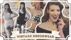 I Wore Vintage Underwear For A Week [CC]