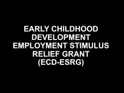 How to apply for the ECD Employment Stimulus Relief Grant (ECD-ESRG)