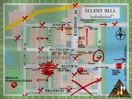 Sh1 Maps Silenthillheaven Com