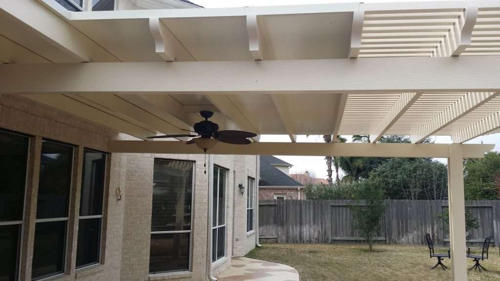 aluminum patio cover home service