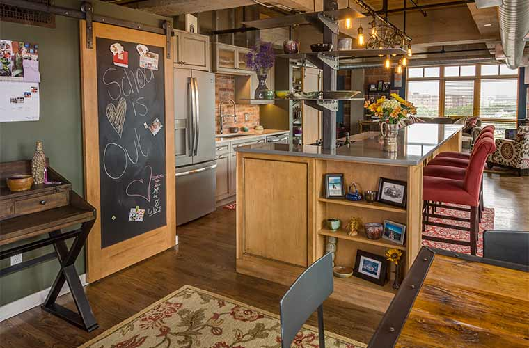 Warehouse Loft Gets A Customized Makeover Stays Urban