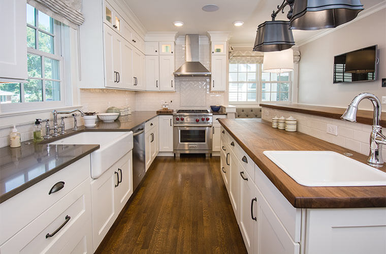 Galley Kitchen Update Ideas