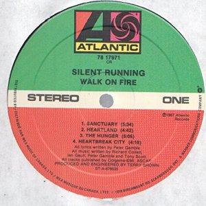 Walk On Fire Vinyl Side One