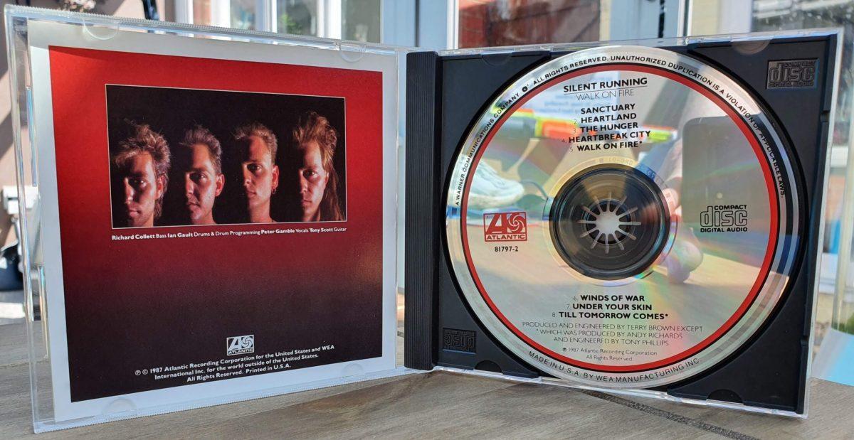 Walk On Fire CD - Inside