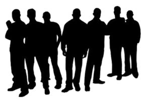 Group of Men silhouette