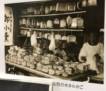 In Moriyama, many shops sold wild-caught fireflies to display in city hotels & restaurants