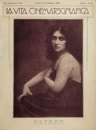 On the cover of La vita cinematografica