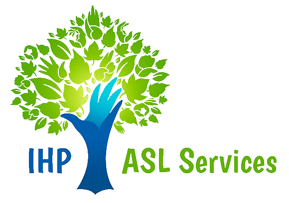 IHP ASL Services Program Graphic