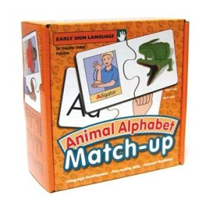 Animal Alphabet Match-up Image