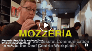 Mozzeria: Real Life Examples of Successful Communication in the Deaf-Centric Workplace Image