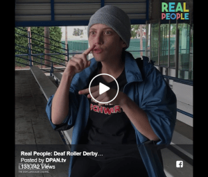 Real People: Deaf Roller Derby Players Image