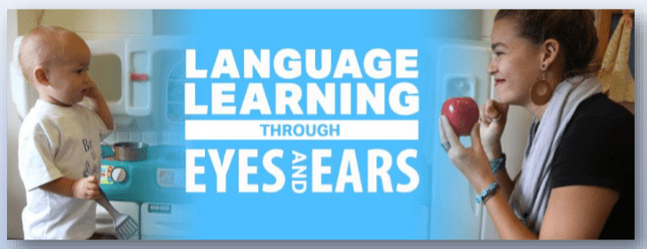 Language Learning Through Eyes and Ears Image