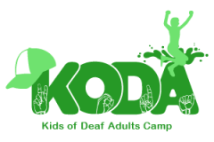 KODA Kids of Deaf Adults Camp graphic