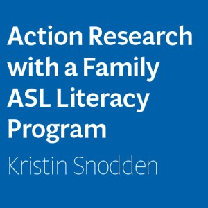 Action Research with a Family ASL Literacy Program Image