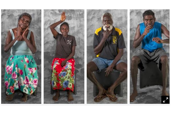 4 dark-skinned Indigenous individuals