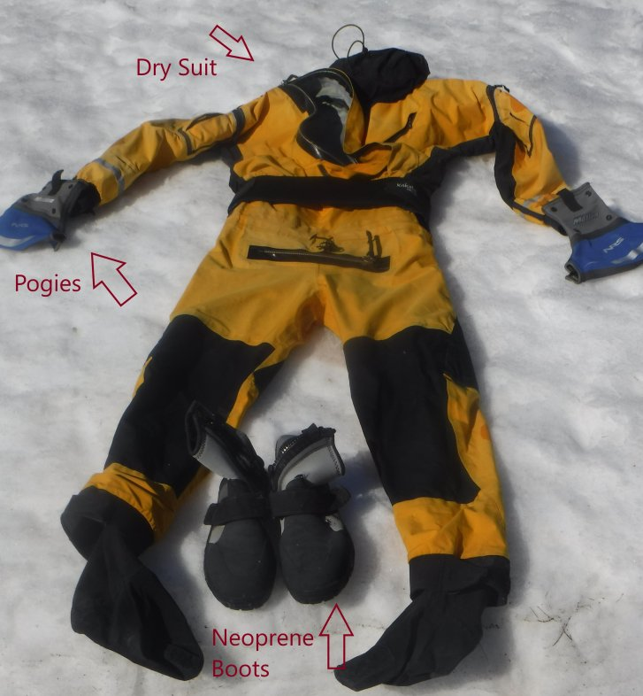 Cold weather paddle gear