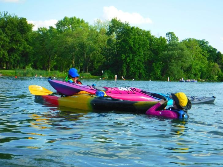 Kayak rescues